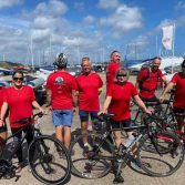 Fundraising cycle for Dementia UK